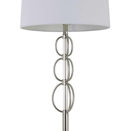 150W 3 Way Bree Metal Floor Lamp