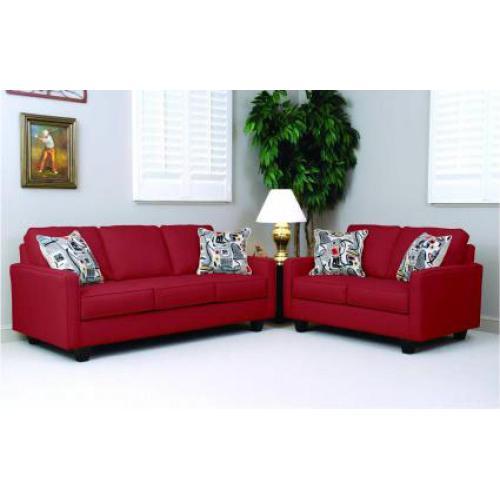 Graham Red Sofa