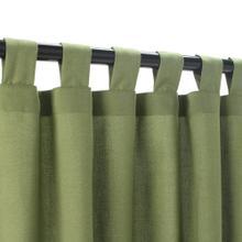 See Details - Sunbrella Spectrum Cilantro Outdoor Curtain with Tabs