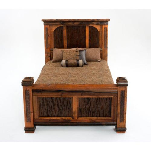 Glacier Bay - Deerbourne Panel Bed - King Bed (complete)