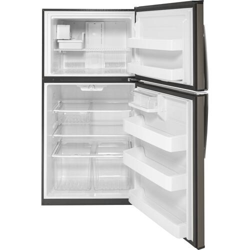 Gallery - GE® ENERGY STAR® 21.1 Cu. Ft. Top-Freezer Refrigerator