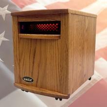 View Product - Original SUNHEAT Amish Hand Crafted Infrared Heater - Nebraska Oak