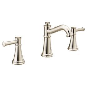 Belfield polished nickel two-handle bathroom faucet