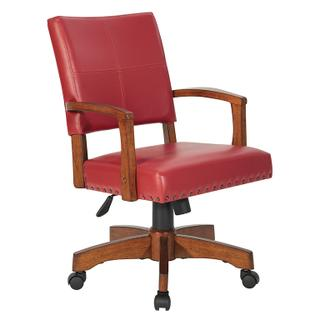 See Details - Deluxe Wood Bankers Chair