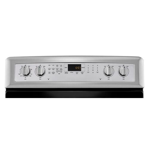 Gallery - 30-inch Wide Electric Range with Convection and Warming Drawer - 6.2 cu. ft.