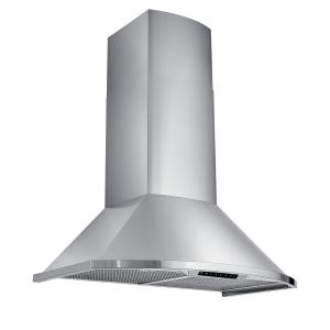 Best36-Inch Chimney Range Hood, 685 Max Blower CFM, Stainless Steel (WCN1 Series)
