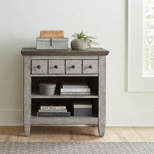 See Details - 1 Drawer Night Stand w/ Charging Station