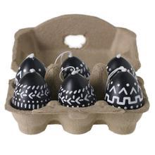"""1.5""""x 2.5"""" - set of 6 Hipster Egg Collection (Egg Hanger Option)"""