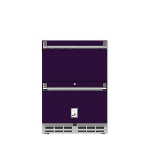 "24"" Hestan Outdoor Refrigerator Drawers - GRR Series - Lush"