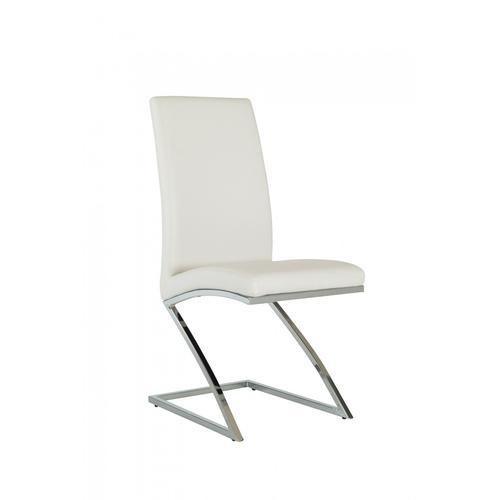 Angora - Modern White Dining Chair (Set of 2)