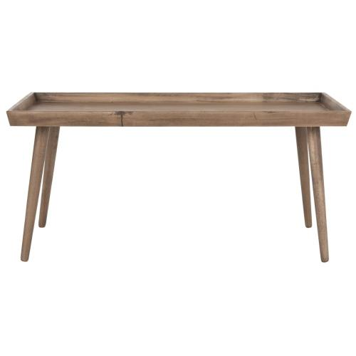 Safavieh - Nonie Coffee Table With Tray Top - Chocolate