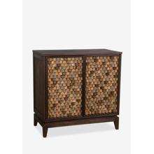 See Details - Calais Two Door Cabinet with Terrace 3D Tile Surface