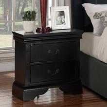Louis Night Stand, Black