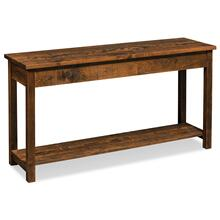 """See Details - Incognito Sofa Table, 54""""w x 16""""d x 29""""h"""