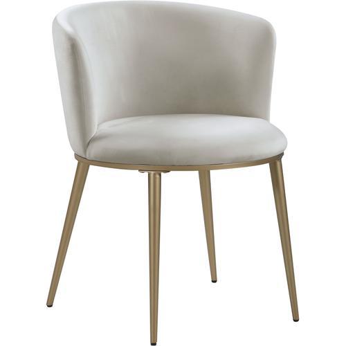 """Skylar Velvet Dining Chair - 23.5"""" W x 23.5"""" D x 30"""" H"""