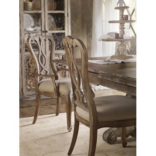 Chatelet Splatback Arm Chair - 2 per carton/price ea