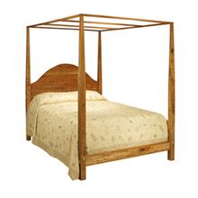 See Details - Arched Pencil Post Bed