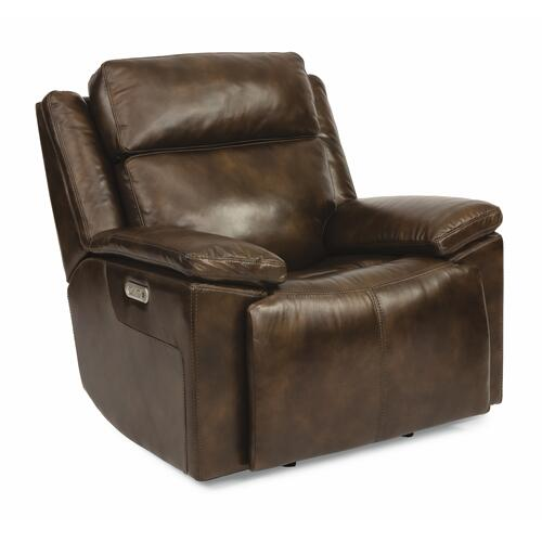 Gallery - Chance Power Gliding Recliner with Power Headrest