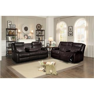 See Details - Jude Reclining Loveseat w/ Center Console