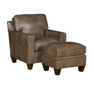 Cory Leather Chair, Cory Leather Ottoman