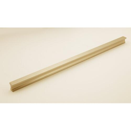"LINEAR 18"" TAB PULL A965-18 - Satin Brass"
