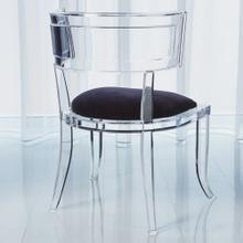 Klismos Acrylic Chair-COM