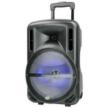 Battery Powered Pa Speaker Rgb Light