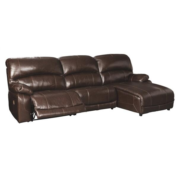 See Details - Hallstrung 3-piece Power Reclining Sectional