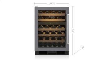 "Legacy Model - 24"" Undercounter Wine Storage - Panel Ready"