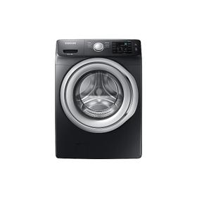 4.5 cu. ft. Front Load Washer with Vibration Reduction Technology in Black Stainless Steel