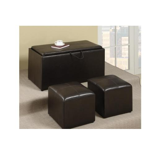 Gallery - 3-pcs Cocktail Ottoman