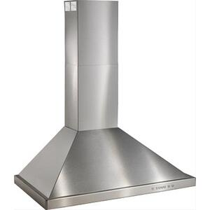 "36"" Brushed Stainless Steel Range Hood with 600 CFM Internal Blower"