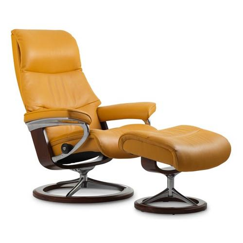 Stressless By Ekornes - Stressless View (M) Signature chair