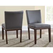 Tiffany Side Chair, Gray