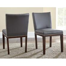 See Details - Tiffany Side Chair, Gray