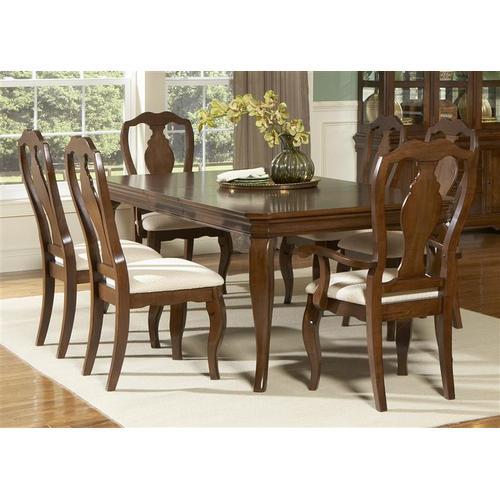 Liberty Furniture Industries - 7 Piece Leg Table Set