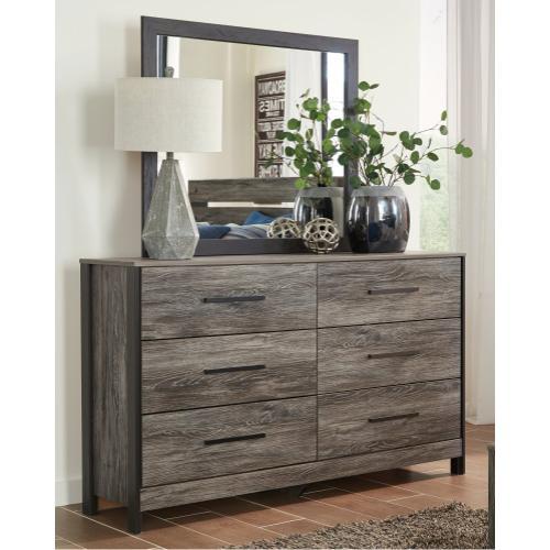 Ashley - King/california King Panel Headboard With Mirrored Dresser