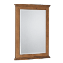 Mirror - Dove White Painted Finish