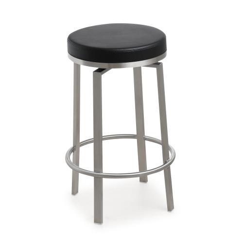 Tov Furniture - Pratt Black Steel Counter Stool (Set of 2)
