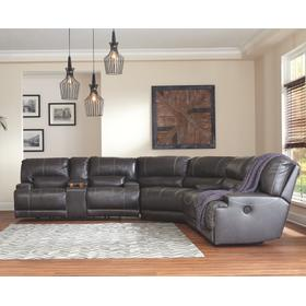 Mccaskill 3-piece Reclining Sectional grey