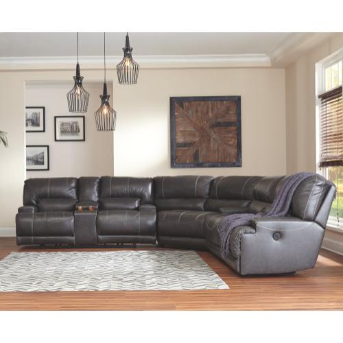 Mccaskill 3-piece Reclining Sectional