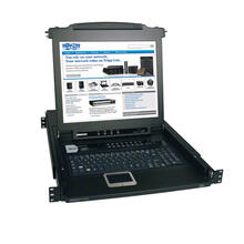 NetDirector 16-Port 1U Rack-Mount Console KVM Switch with 17-in. LCD