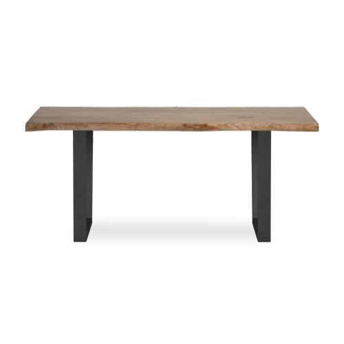 Global Home - Tea Tree Dining Table 1800 Metal Base