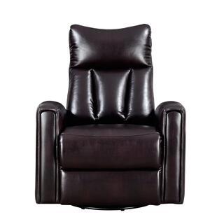 Maverick Swivel Glider Recliner Chocolate