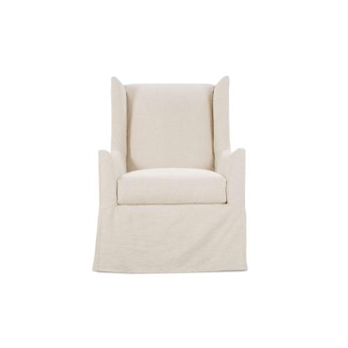 Ellory Slipcover Swivel Chair