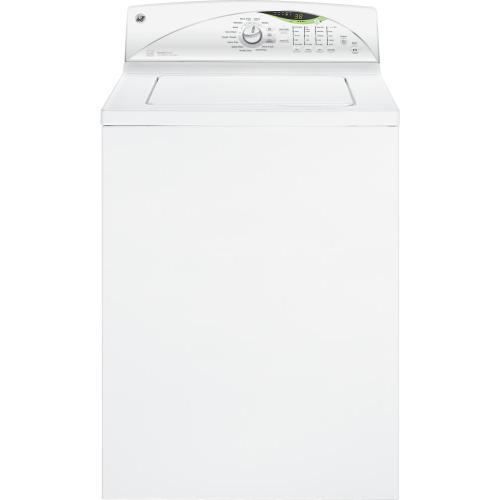 GE® 3.9 DOE cu. ft. stainless steel capacity washer