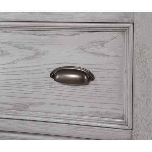 Legends 2-drawer Nightstand, Light Gray