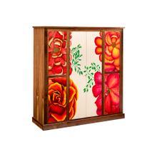 See Details - Garden Meadow 6 Door Linen Cabinet
