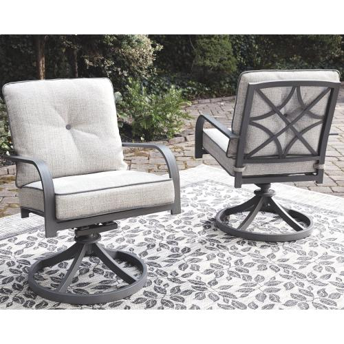 Donnalee Bay Swivel Lounge Chair (set of 2)