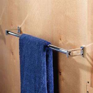 "Frame 18"" Towel Bar - Satin Nickel Product Image"